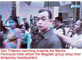 Sen. Trillianes, Gen. Lim Walk Out of Court-martial, Call