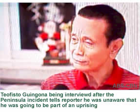 Former Veep Guingona: Sleepwalking through a Coup d'tat?