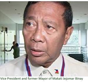 Vice President and former Mayor of Makati Jejomar Binay