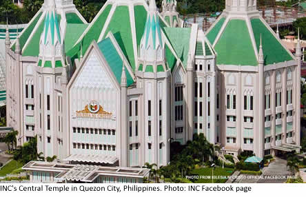 INC's Central Temple in Quezon City, Philippines