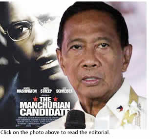 Is Vice President Jejomar Binay the Manchurian Candidate?